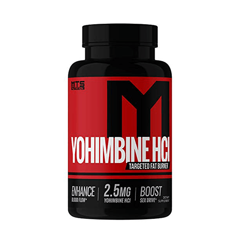 MTS Nutrition Yohimbine HCL - 2.5 mg