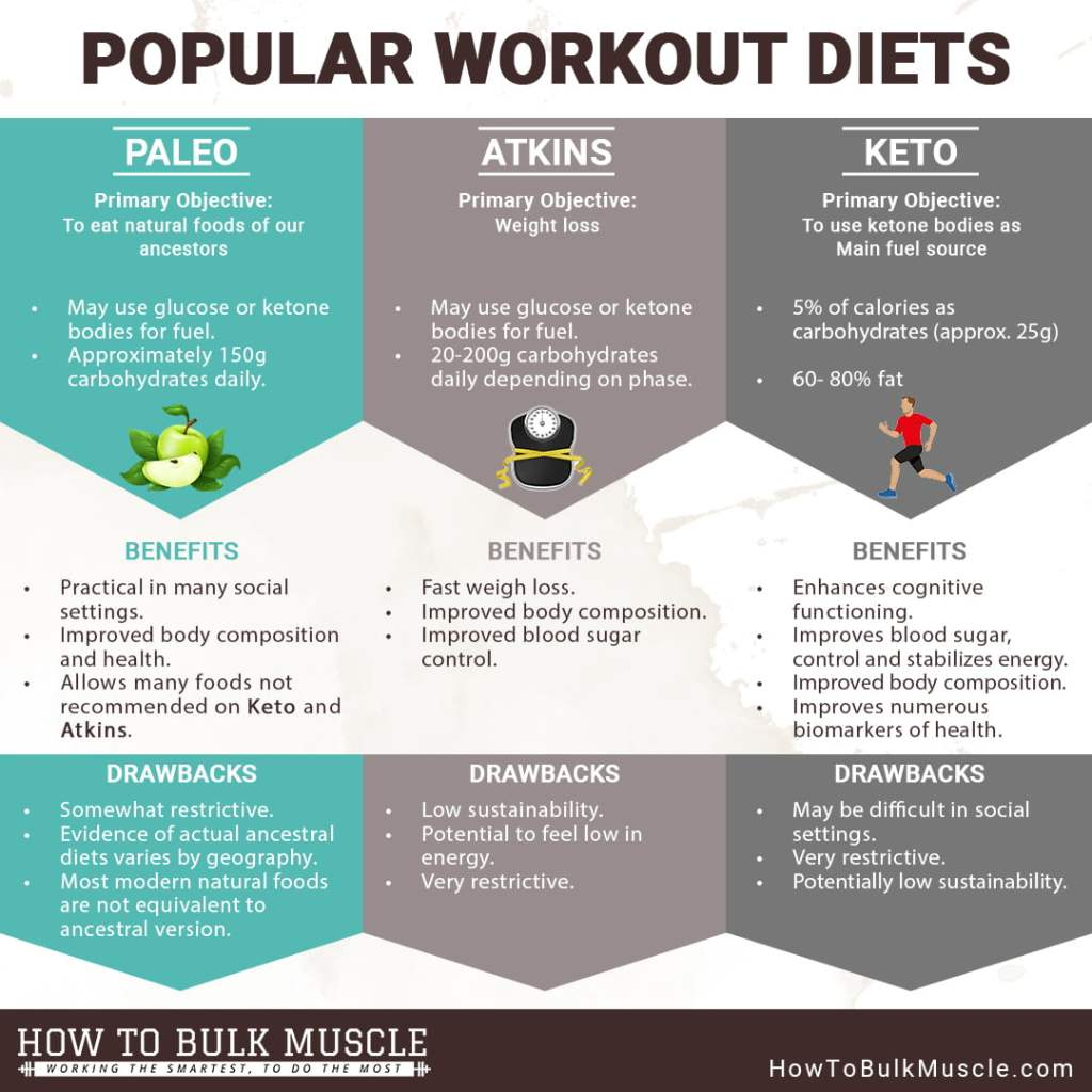 Popular Workout Diets