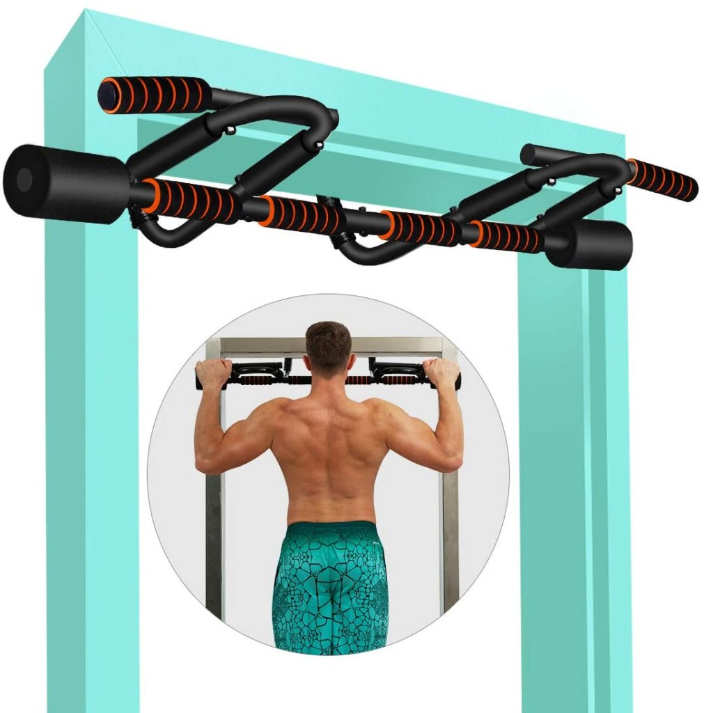 Best Home Pull Up Bar for Door Hanging No Screws or Damage