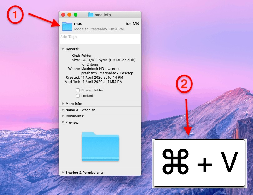 How to change folder icon on mac