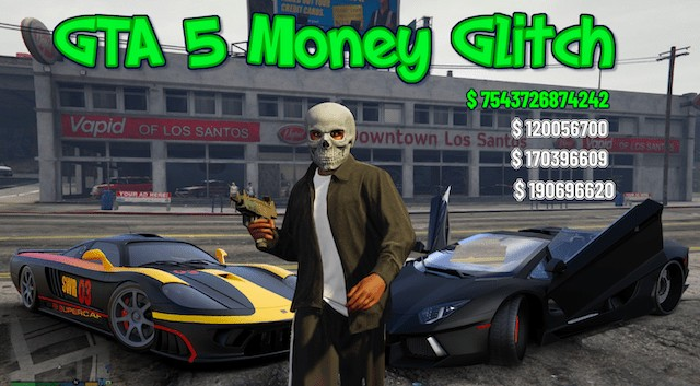 GTA 5 Online Money Glitch