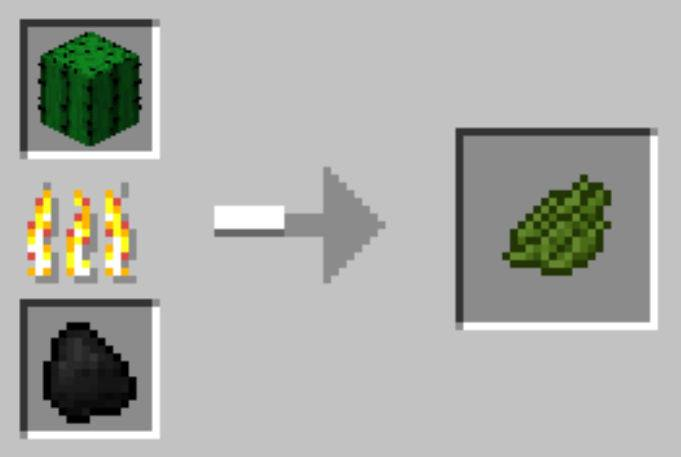 How To Make Green Dye In Minecraft