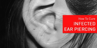 home remedies for ear piercing infection