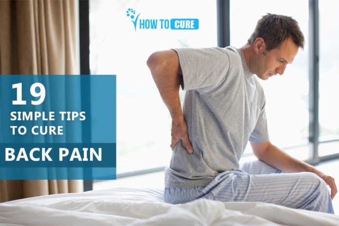 How to cure Back pain Naturally