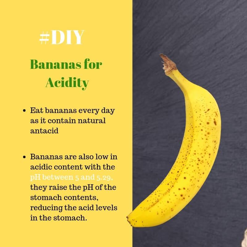 bananas acid reflux