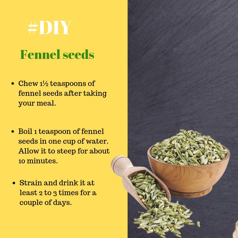 fennel seeds for acid reflux