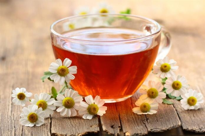 Chamomile Tea for stomach pain