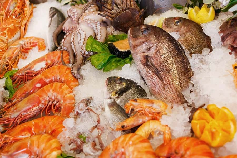 Seafood for anemia