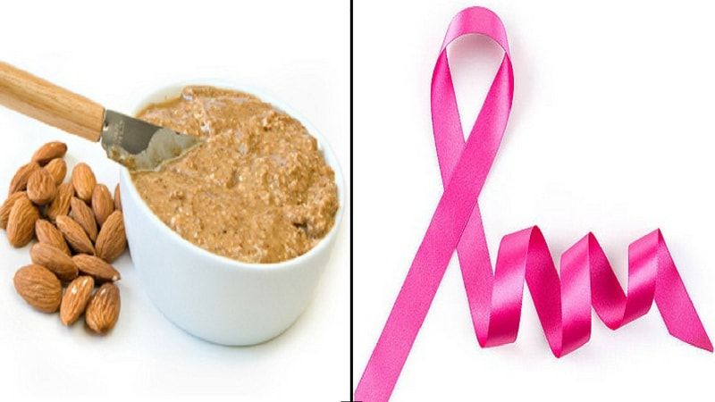 almond butter prevents cancer