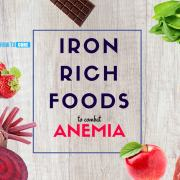 excellent iron rich roods that can help combat anemia