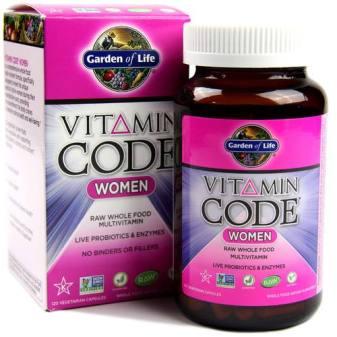 garden of life vitamin code women
