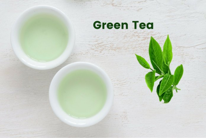 green tea benefits for hair