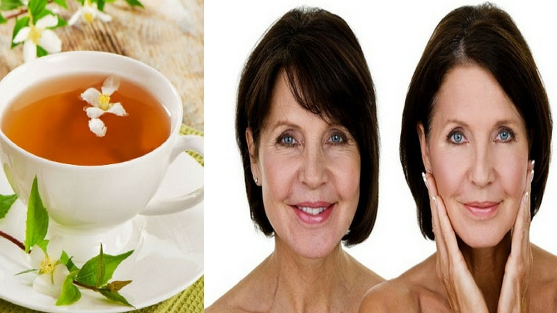 jasmine tea benefits for the reversal of aging