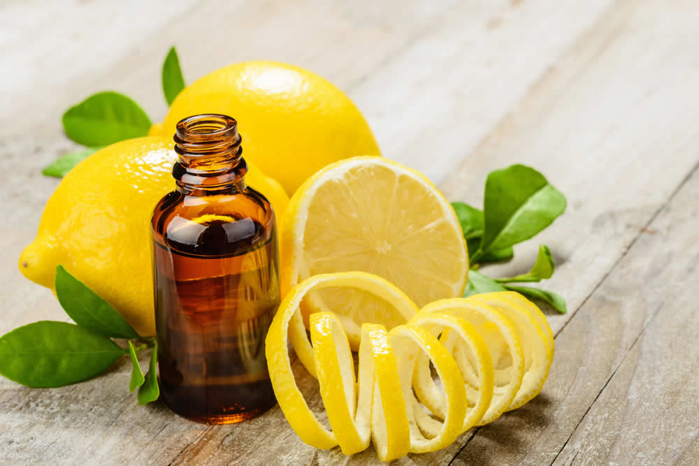 lemon essential oil for gout treatment