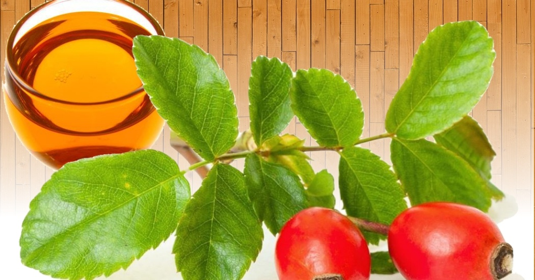 Rosehip oil for the damaged skin on the face