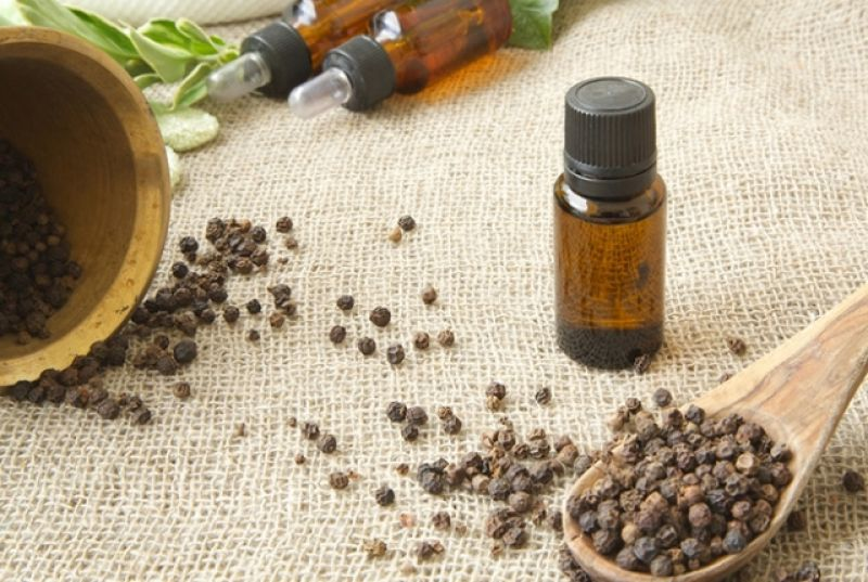 to cure gout black pepper oil