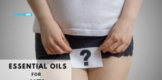 essential oils for UTI natural treatment