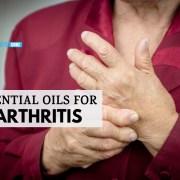 essential oils for arthritis