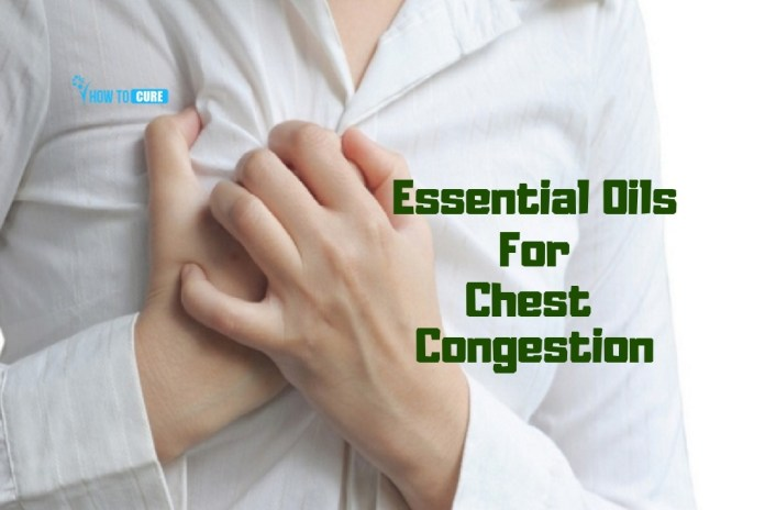 essential oils for chest congestion