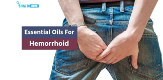 essential oils for hemorrhoids