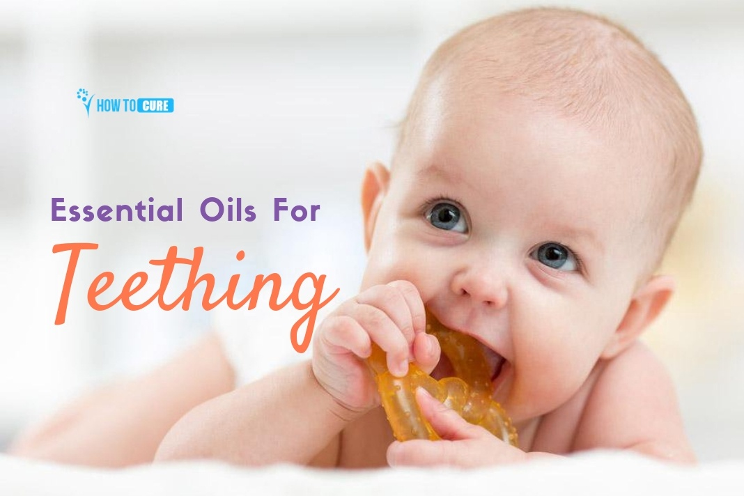 essential oils for teething