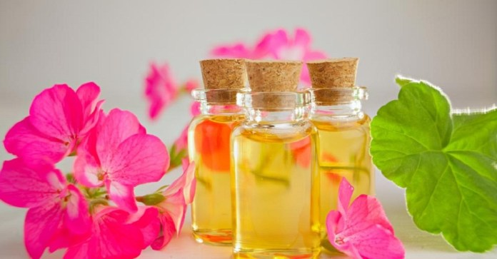 geranium oil for skin scars