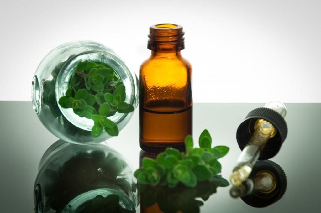 oregano oil for a sore throat