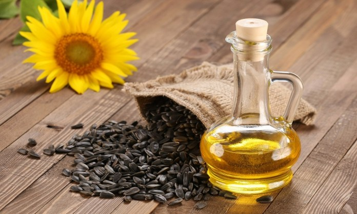 sunflower oil for dry skin