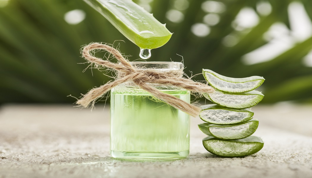 aloe vera gel for cure itchy feet