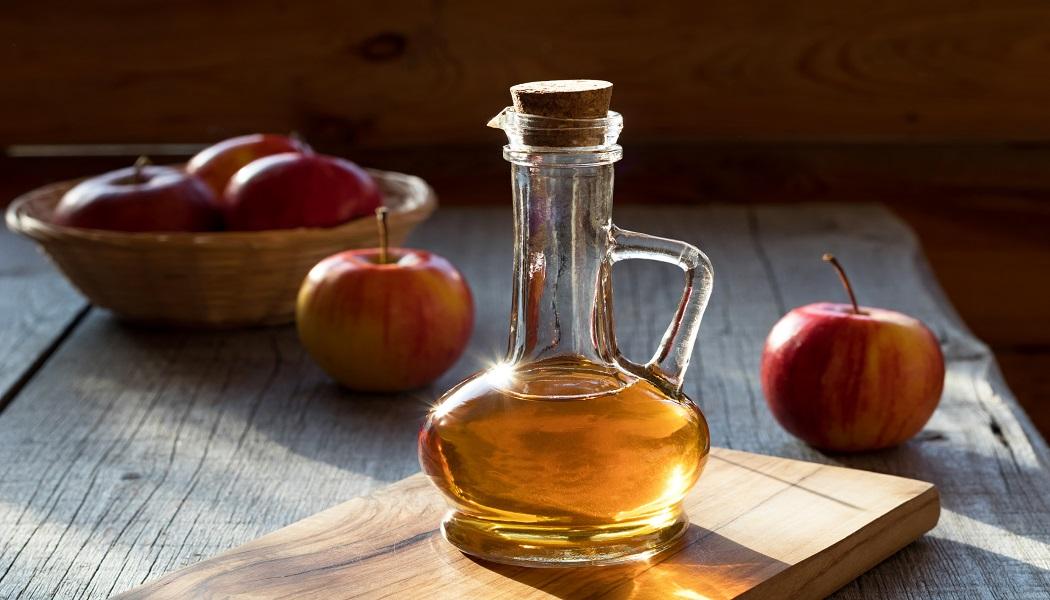 apple cider vinegar for get rid of candida
