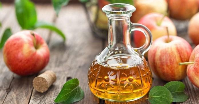 apple cider vinegar for treat fever blisters