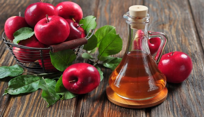 apple cider vinegar to treat blood blister