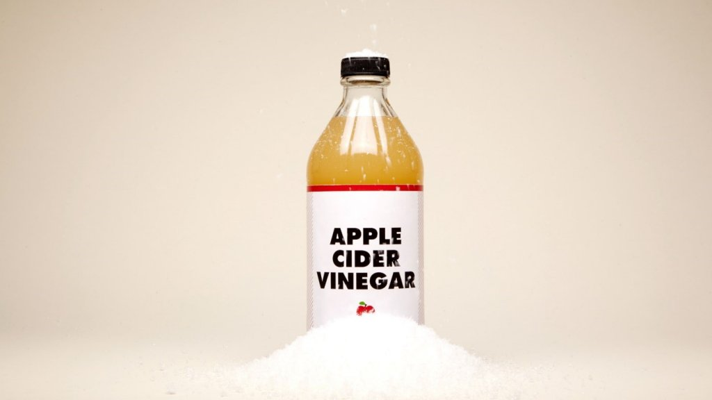 apple cider vinegar to reduce aging
