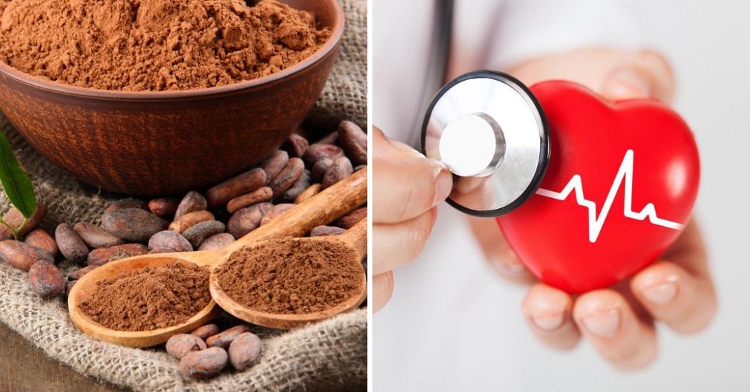 cocoa powder improves heart health