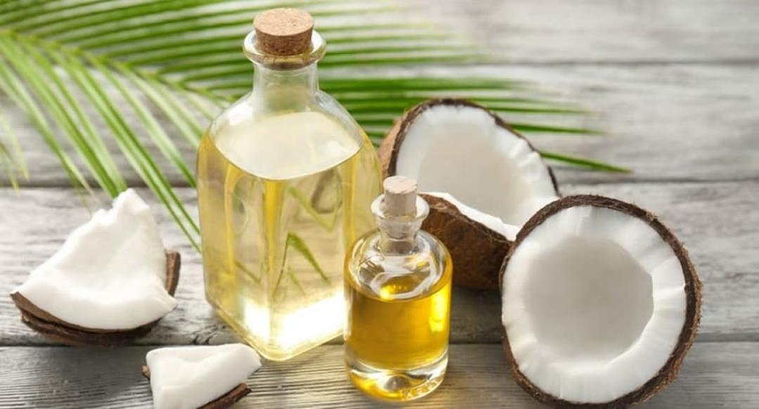 Coconut oil to treat dry scalp