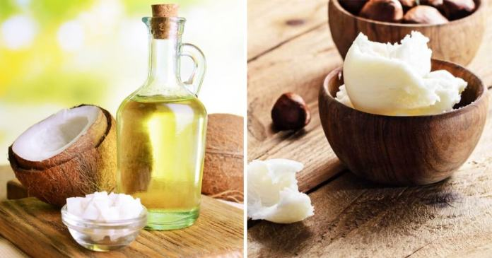 coconut oil for skin with shea butter for eczema