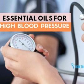 essential oils high blood-pressure management