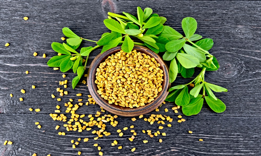 fenugreek leaves for whiteheads