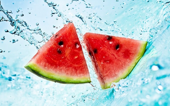 fresh and juicy watermelons for weight loss