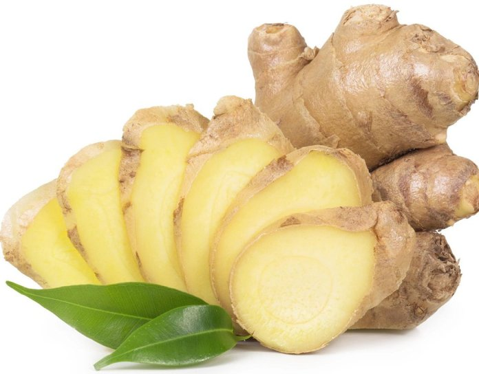 ginger for stress hives on face
