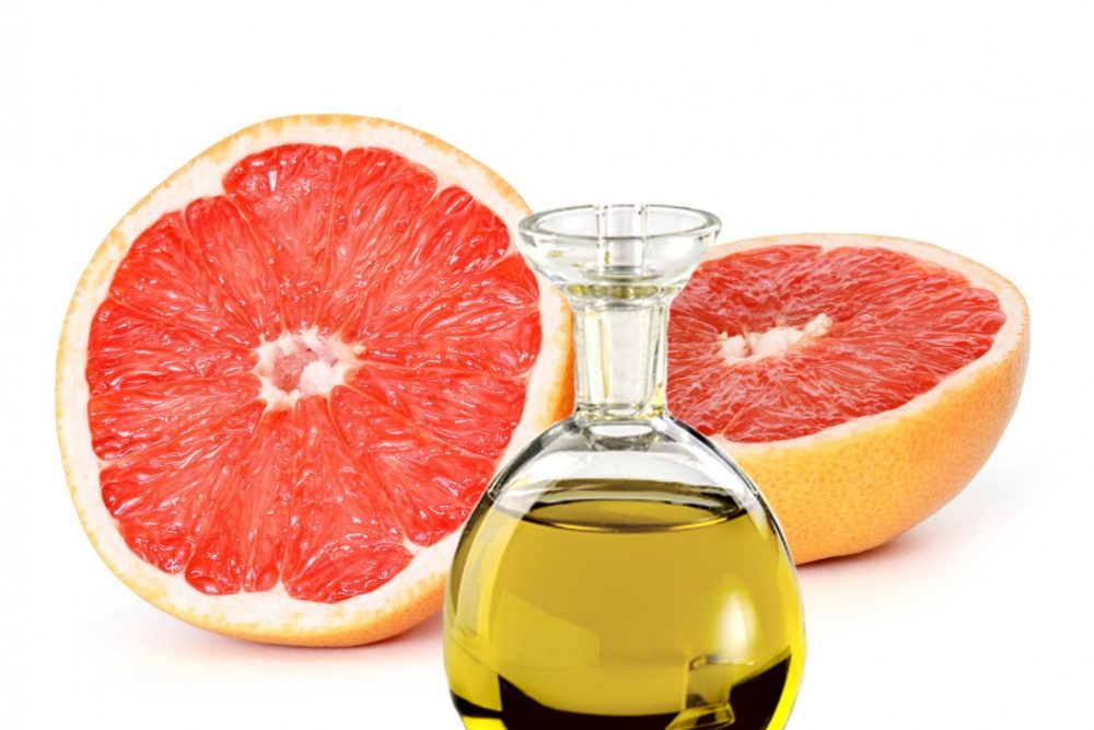 grapefruit essential oil to reduce swelling