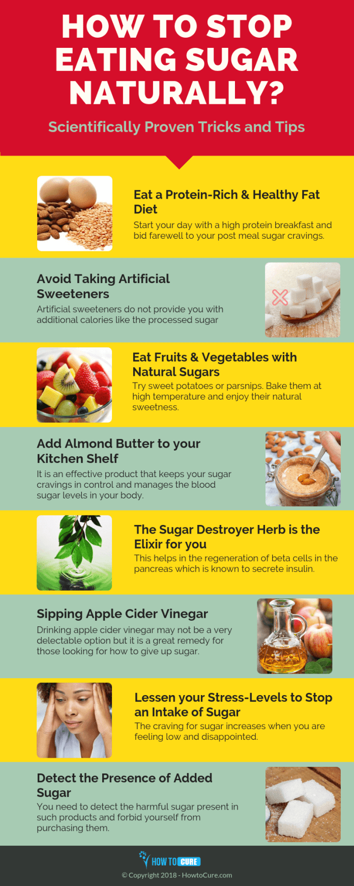 how to stop sugar naturally