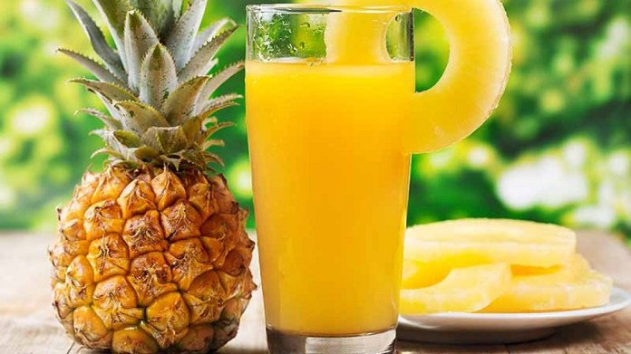 pineapple juice for genital warts