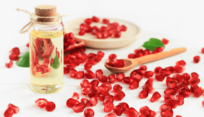 pomegranate oil for skin