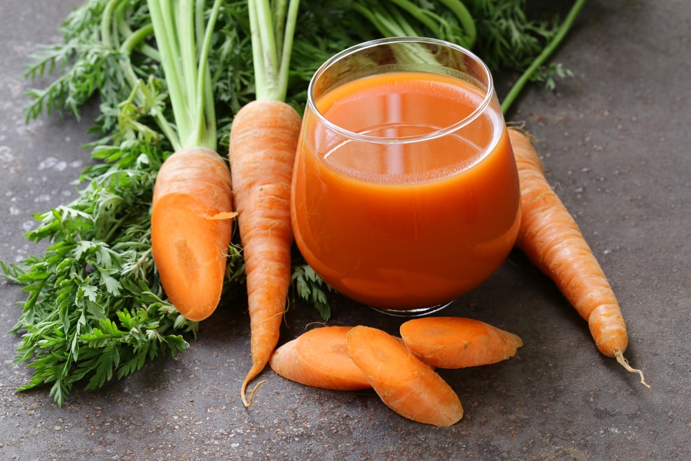 Carrot Juice Smoothie-min