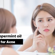Peppermint oil for Acne