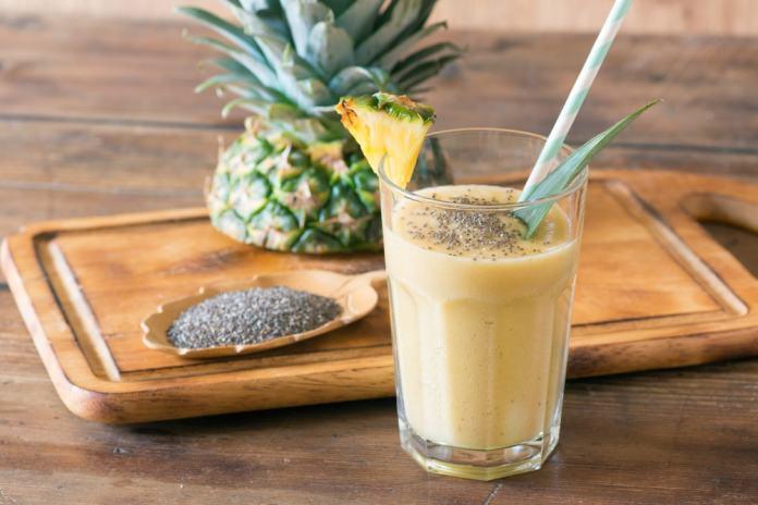 Pineapple Chia Drink-min