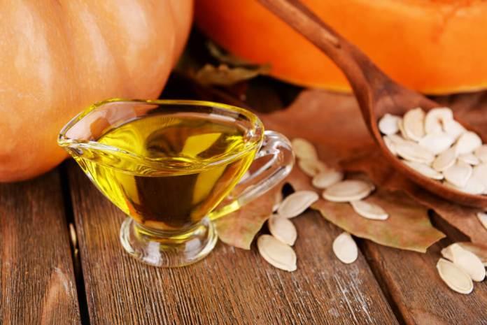 Pumpkin hair oil at home