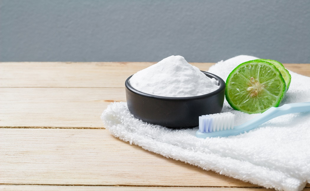 baking soda bath helps in treating keloids