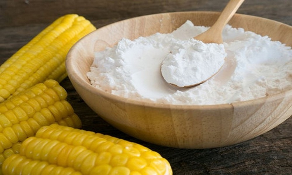cornstarch paste to remove cold sores